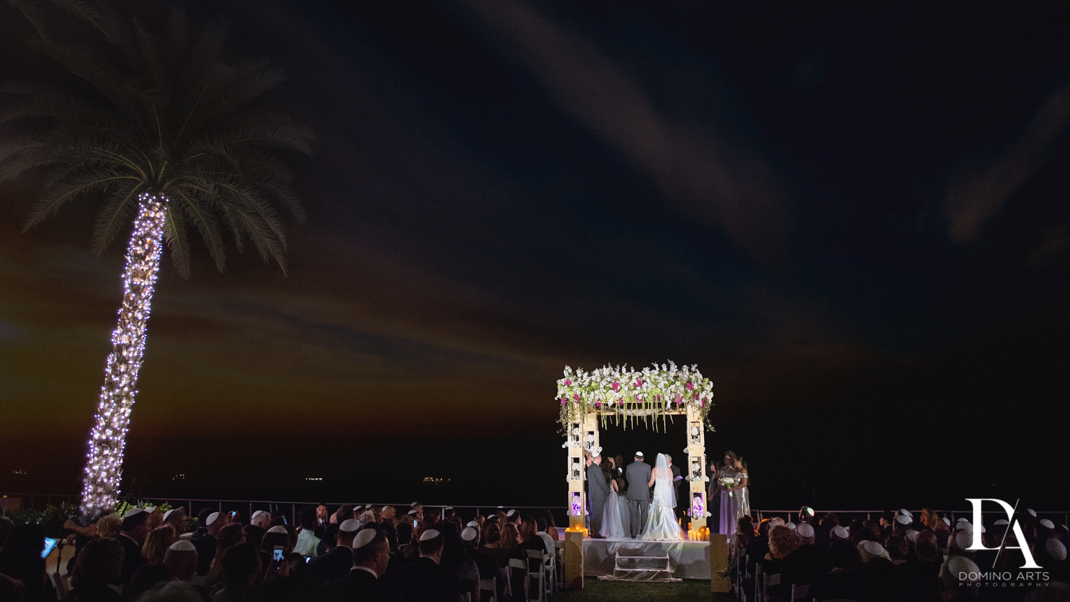 Oceanside Wedding Photography in South Florida at Fort Lauderdale Marriott Harbor Beach Resort & Spa by Domino Arts Photography