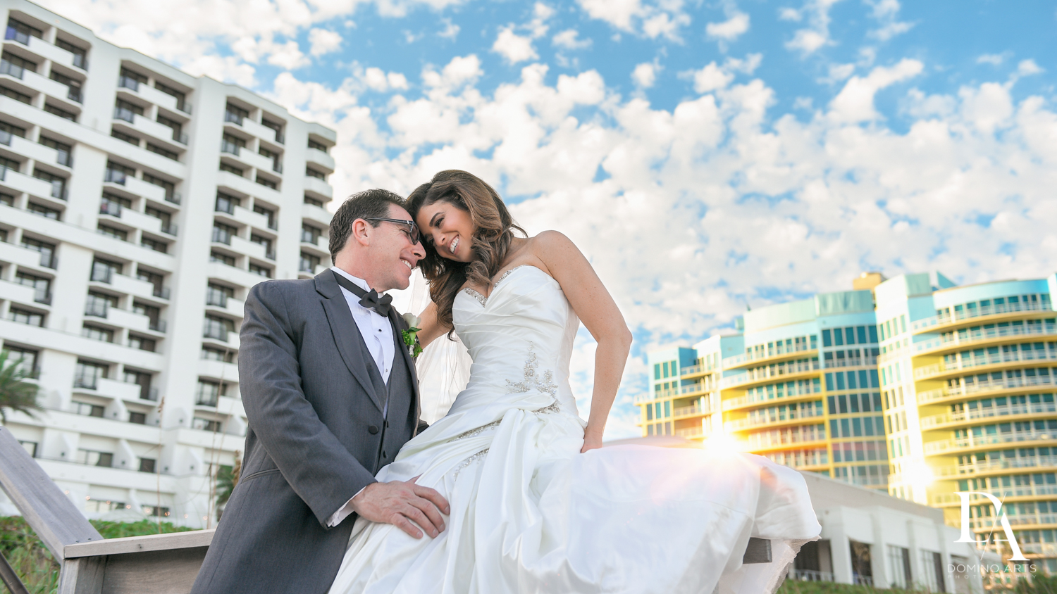 Best Wedding Photography in South Florida at Fort Lauderdale Marriott Harbor Beach Resort & Spa by Domino Arts Photography