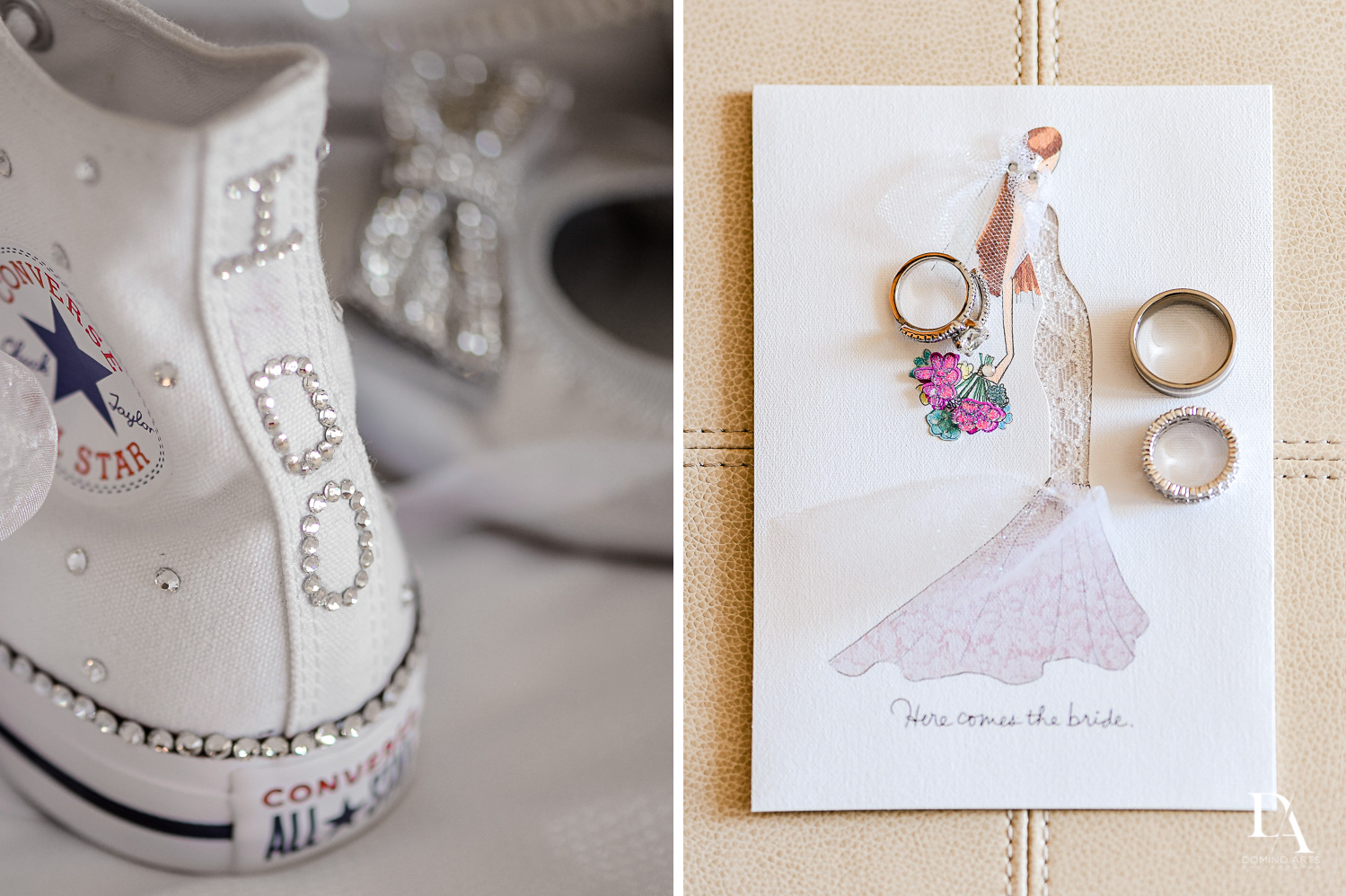 Amazing details Wedding Photography in South Florida at Fort Lauderdale Marriott Harbor Beach Resort & Spa by Domino Arts Photography