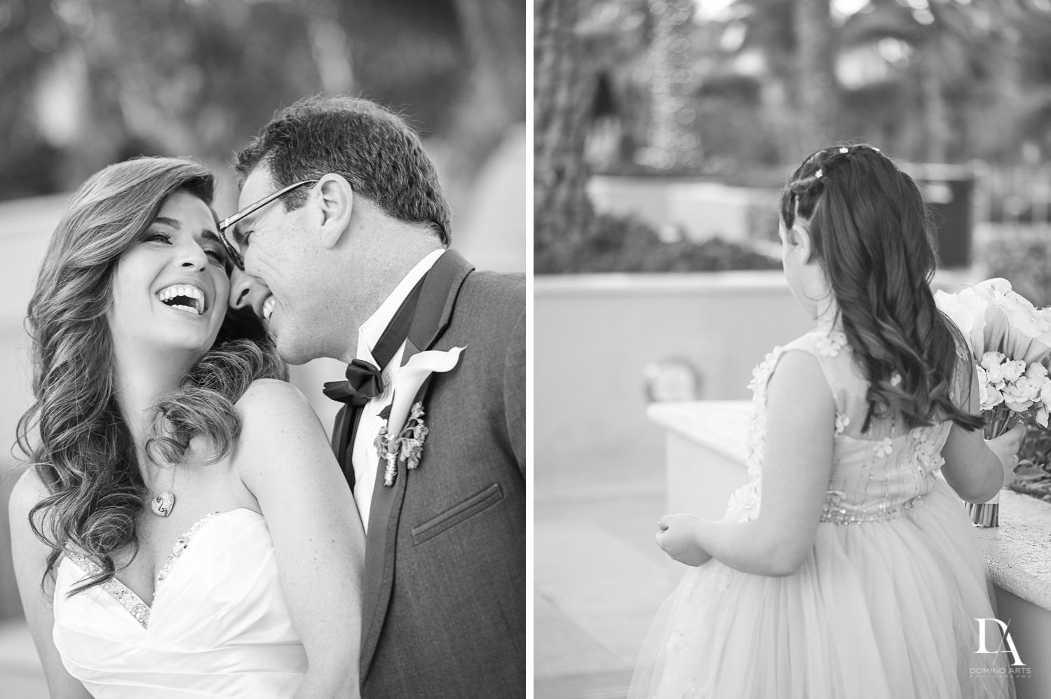 Lifestyle Wedding Photography in South Florida at Fort Lauderdale Marriott Harbor Beach Resort & Spa by Domino Arts Photography
