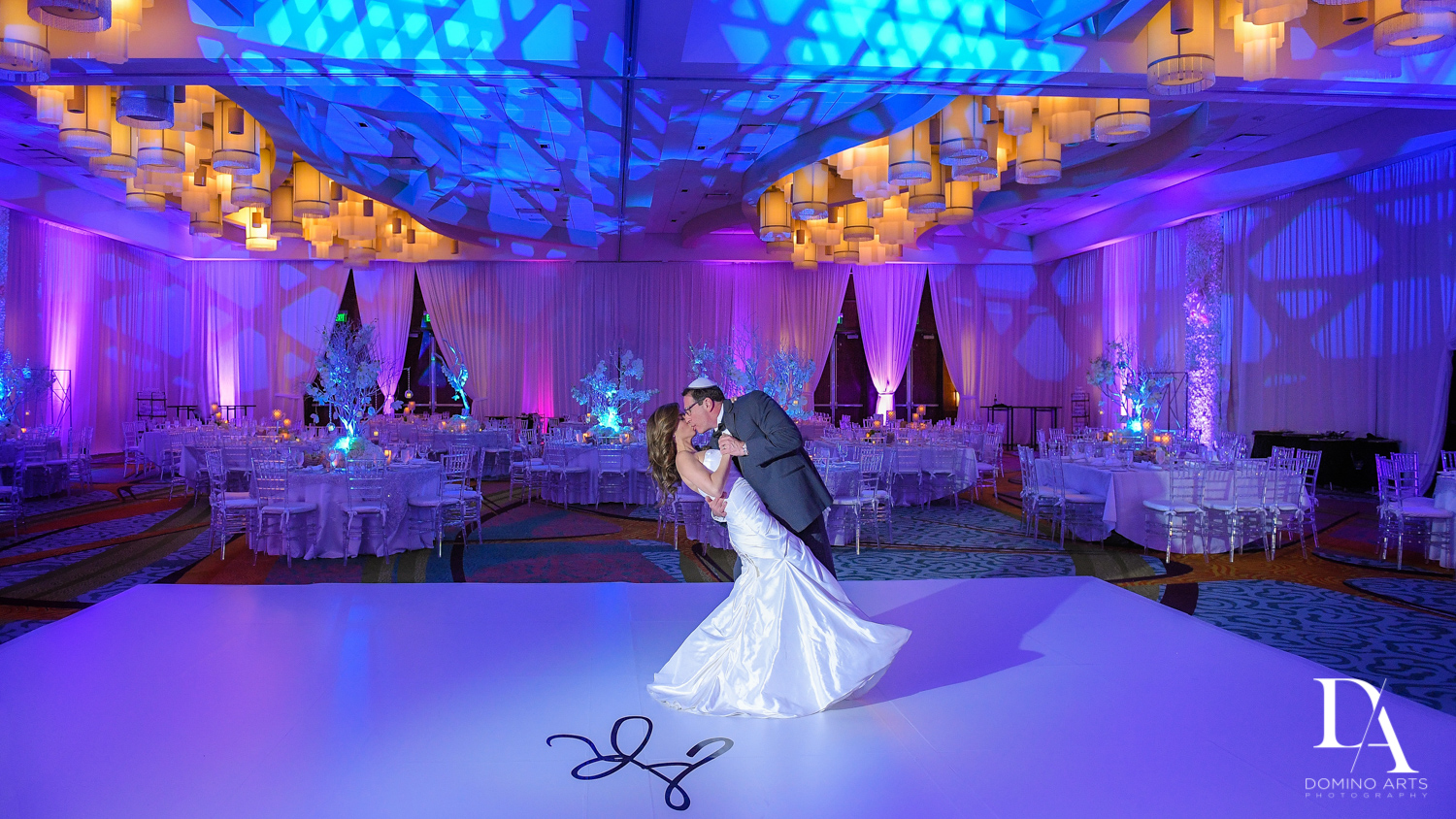 Classic Wedding Photography in South Florida at Fort Lauderdale Marriott Harbor Beach Resort & Spa by Domino Arts Photography