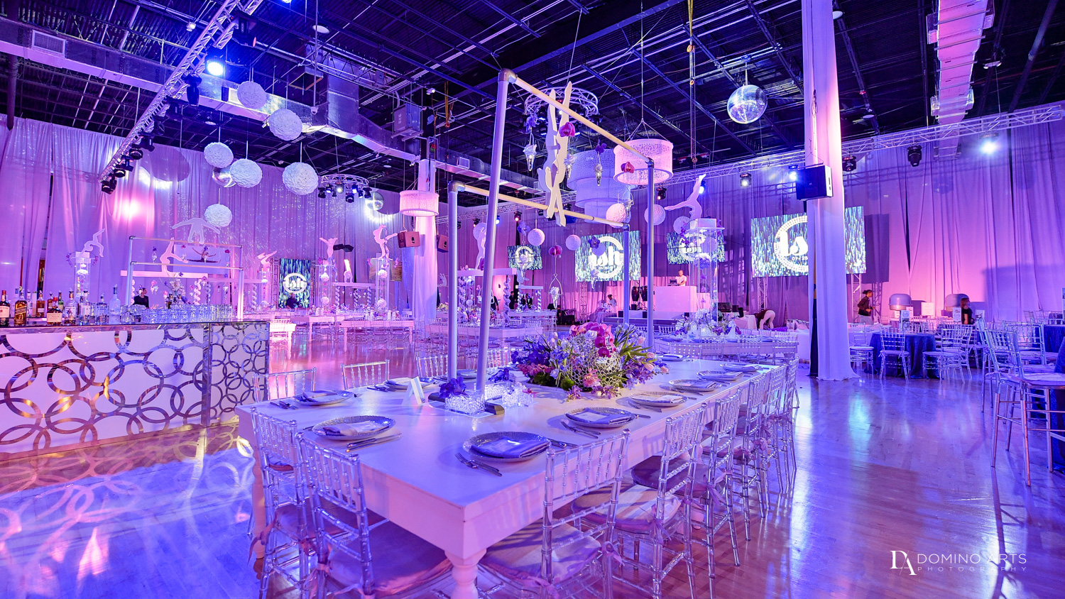 Gymnastics Theme Bat Mitzvah Photography at Xtreme Action Park by Domino Arts