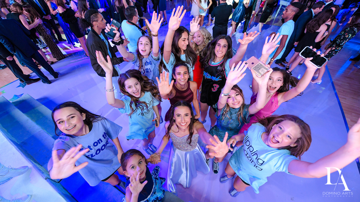 fun party pictures at Gymnastics Theme Bat Mitzvah at Xtreme Action Park by Domino Arts