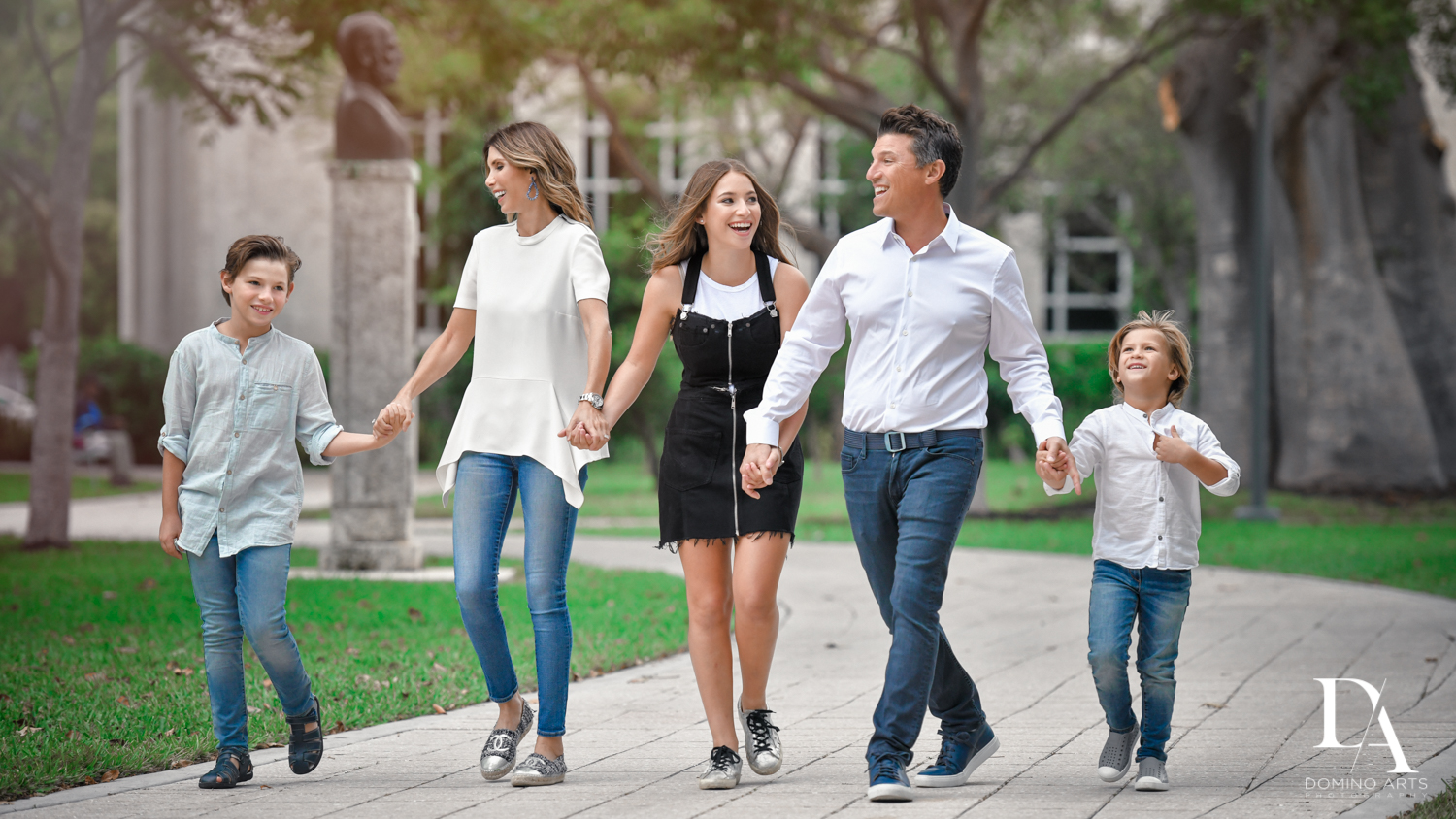 Fun family Waterfront Photo Session in Miami by Domino Arts Photography