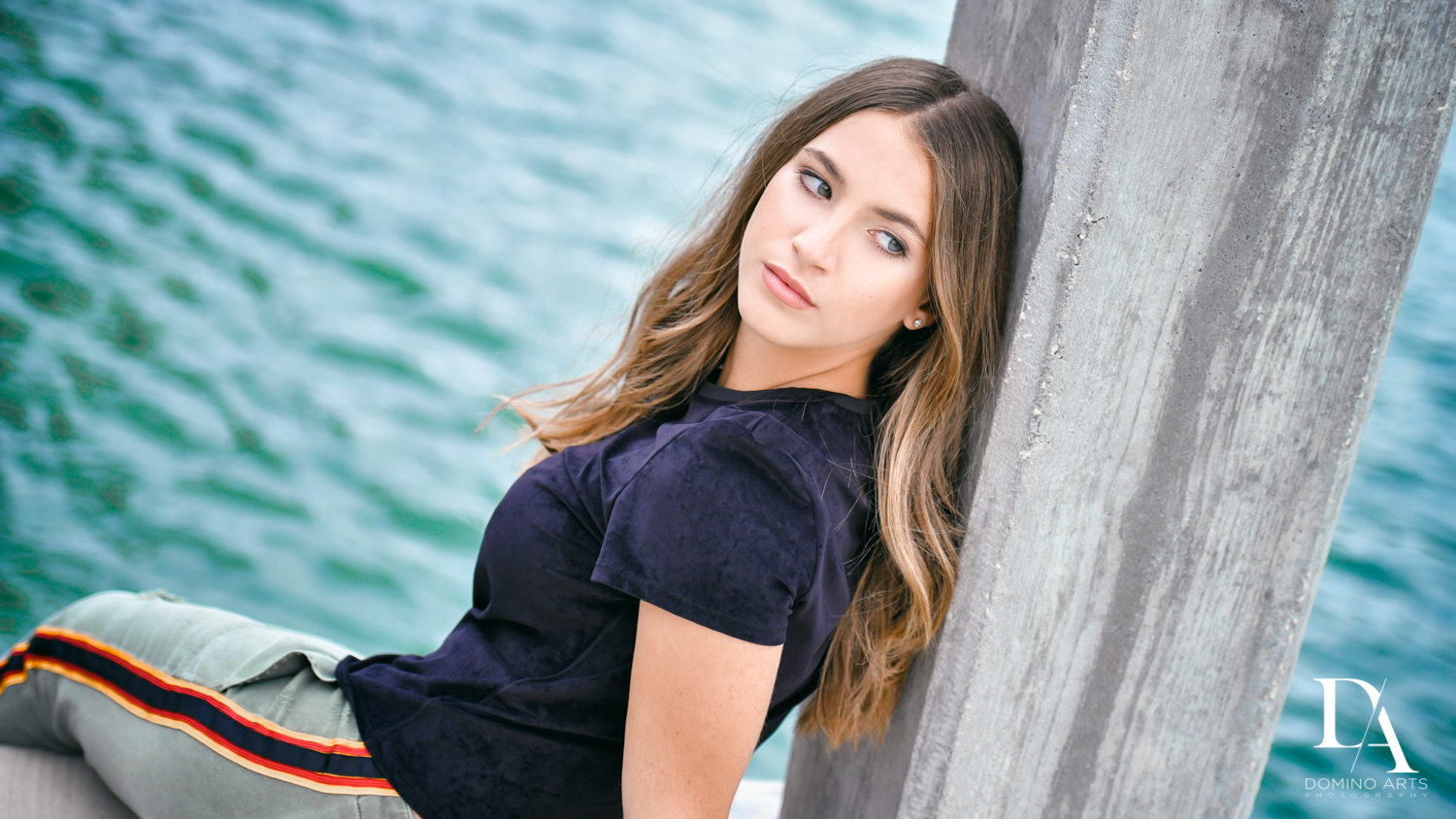 Waterfront Photo Session in Miami by Domino Arts Photography