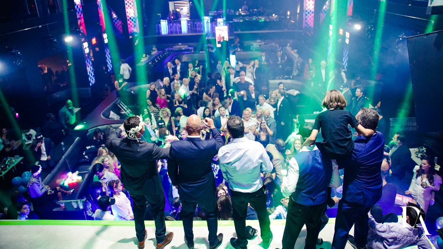 stage view at Nightclub Bat Mitzvah at LIV in Fontainebleau Miami by Domino Arts Photography