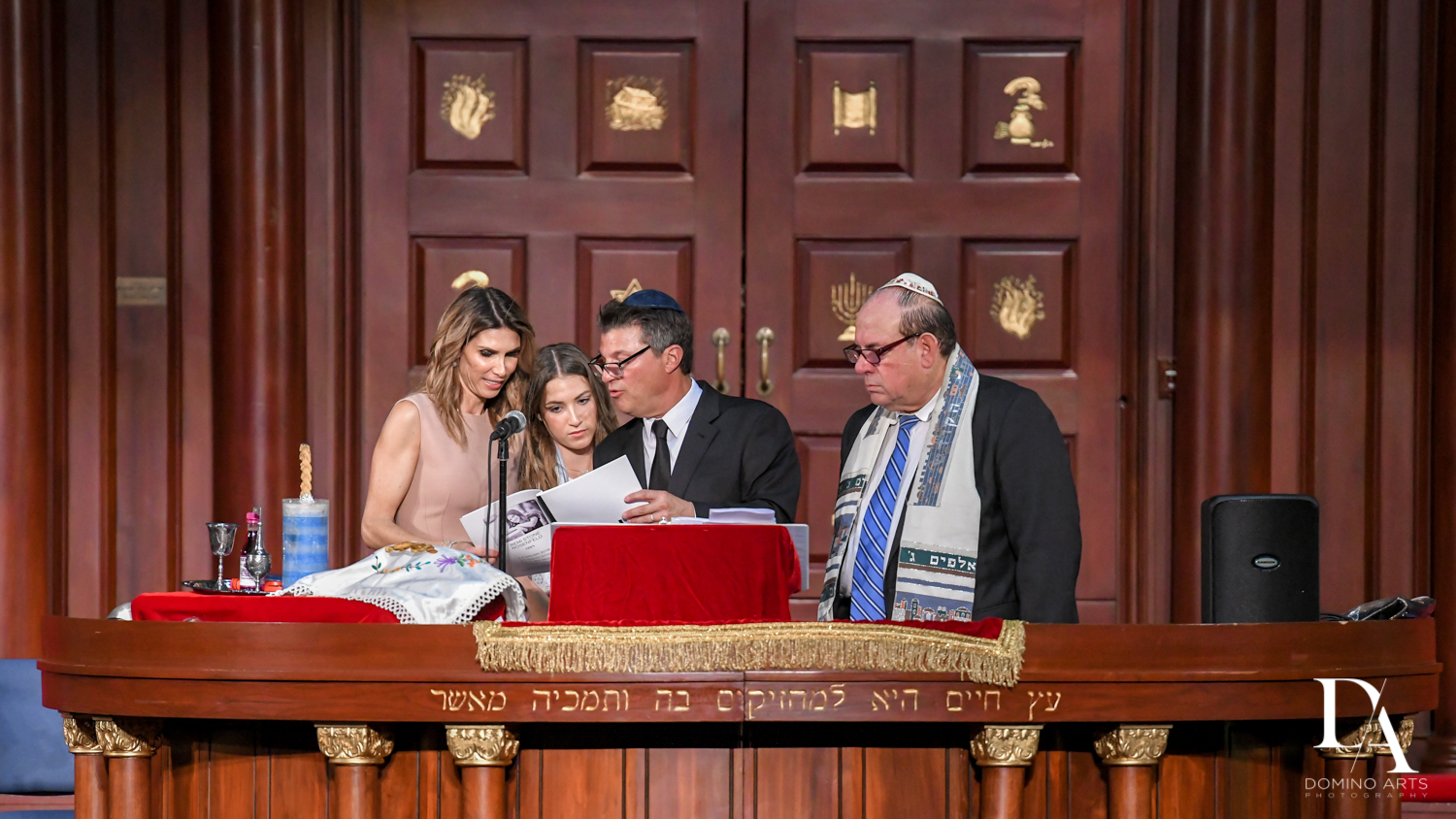 Temple Emmanuel Miami Beach Bat Mitzvah by Domino Arts Photography