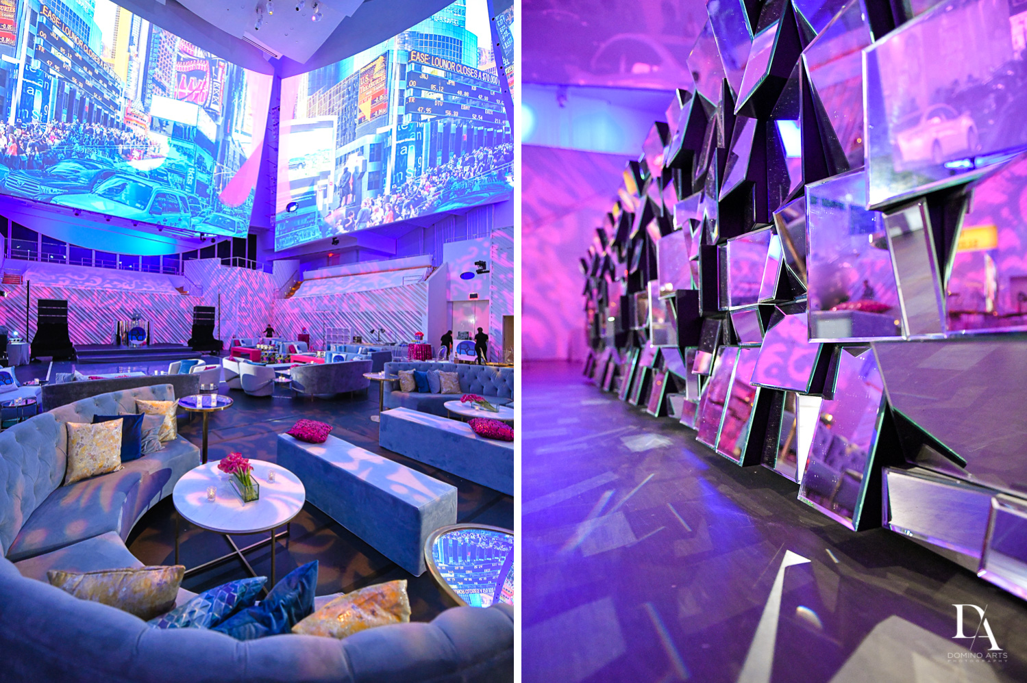 best decor ideas at Luxurious Broadway Theme Bat Mitzvah at New World Symphony in Miami Beach by Domino Arts Photography