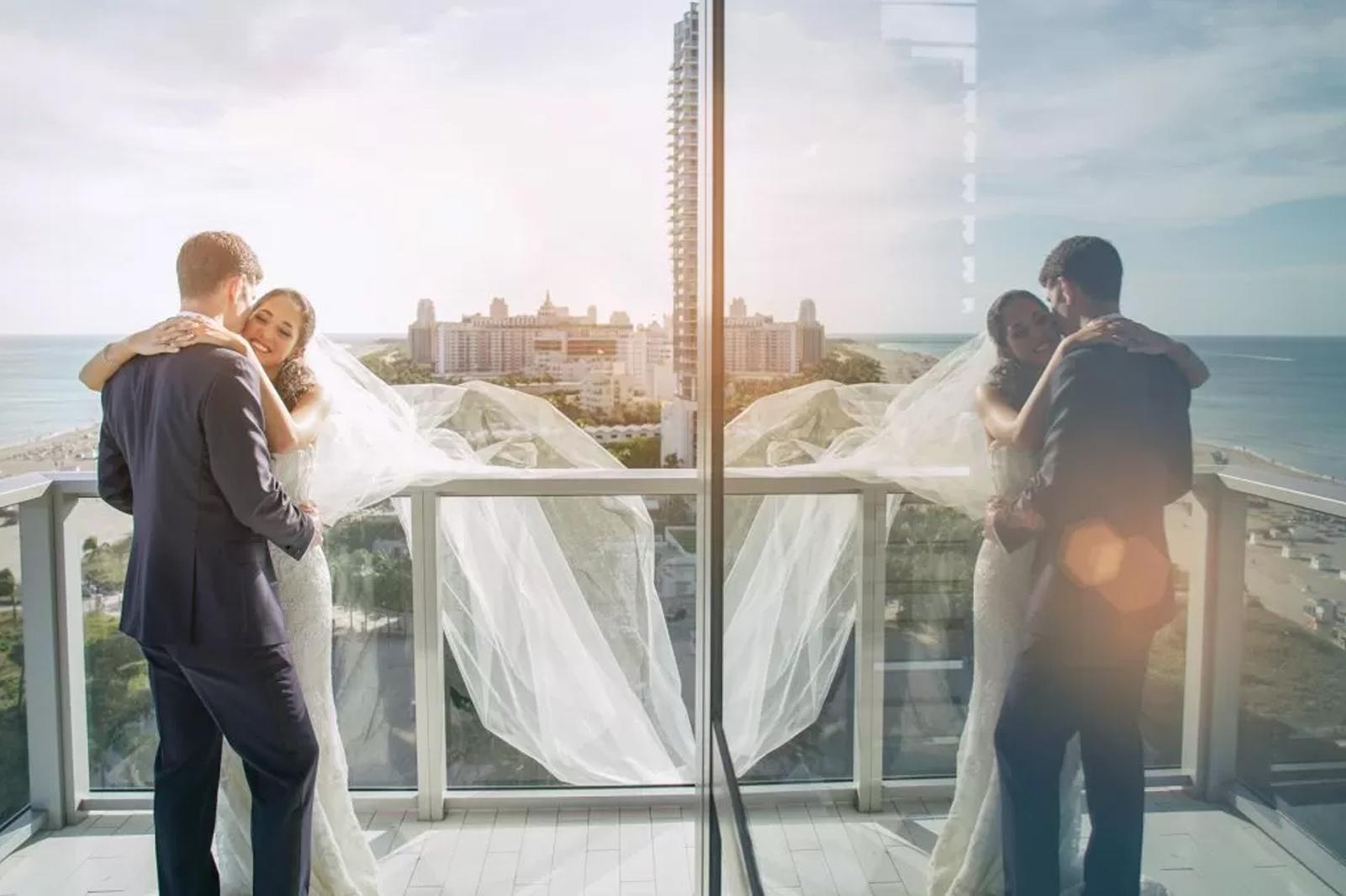 W Hotel Miami Wedding by Domino Arts