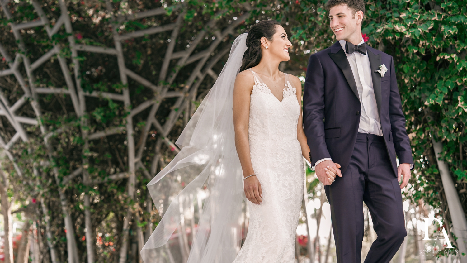 couples photos at Classic Miami Beach Wedding at Temple Emanu-El and Emanuel Luxury Venue by Domino Arts Photography
