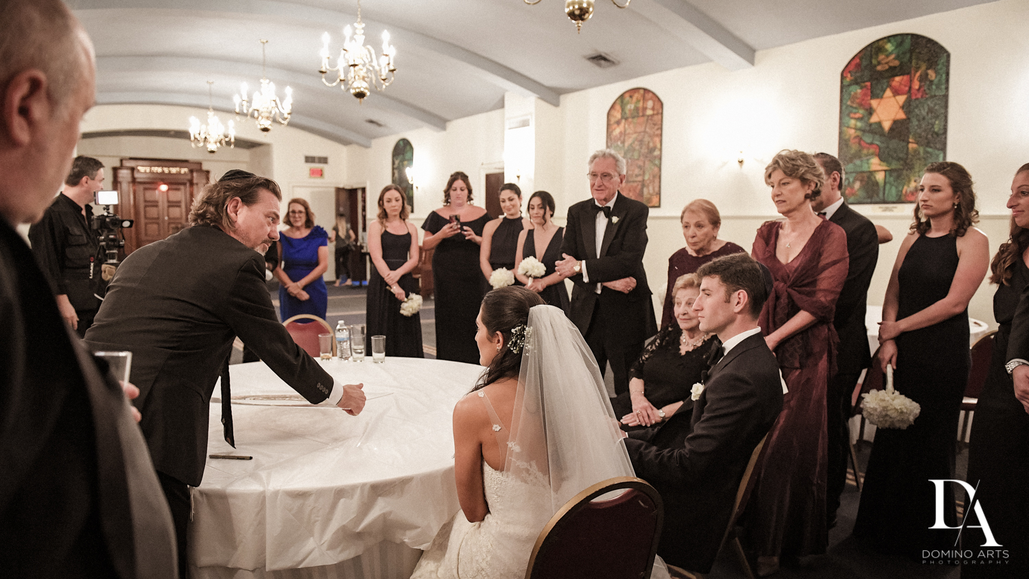 ketubah at Classic Miami Beach Wedding at Temple Emanu-El and Emanuel Luxury Venue by Domino Arts Photography
