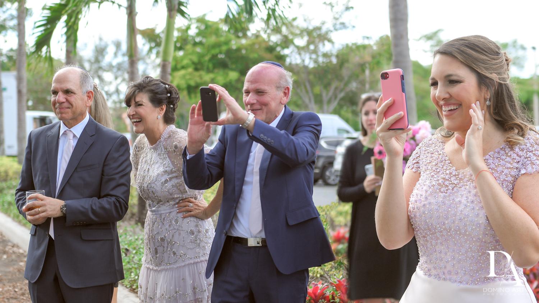 family pics at Fairy-Tale Wedding at BNai Torah Boca Raton by Domino Arts Photography