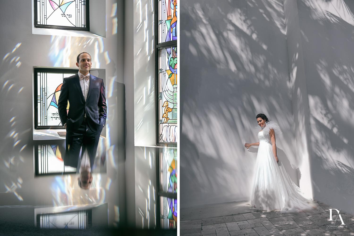creative portraits at Fairy-Tale Wedding at BNai Torah Boca Raton by Domino Arts Photography