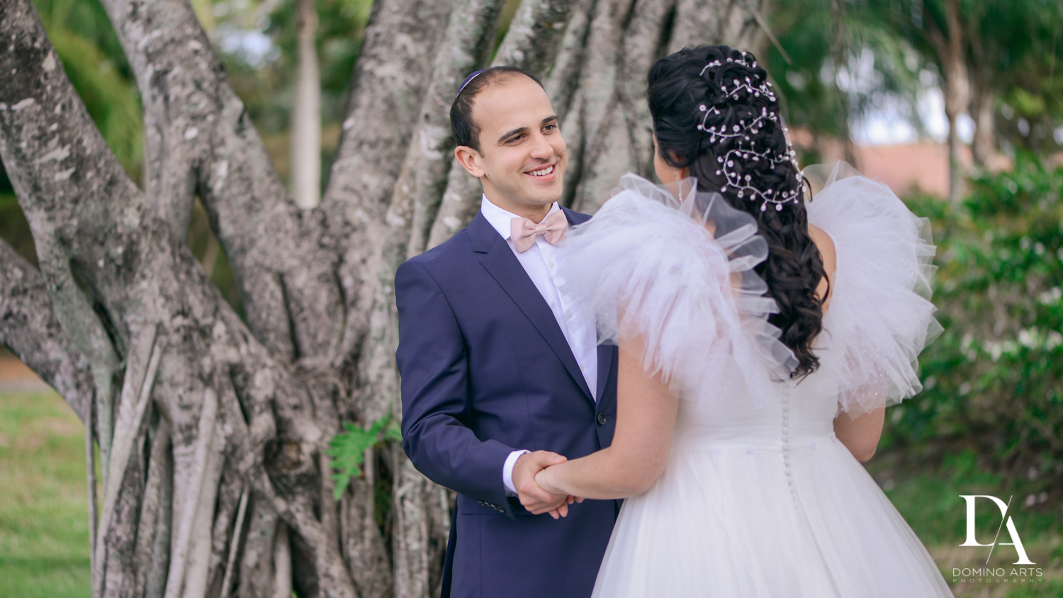phairis luxury hair at Fairy-Tale Wedding at BNai Torah Boca Raton by Domino Arts Photography