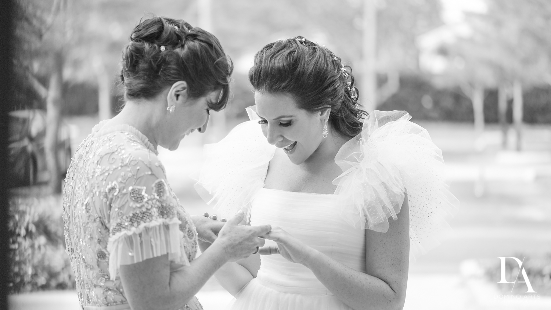 wedding rings at Fairy-Tale Wedding at BNai Torah Boca Raton by Domino Arts Photography