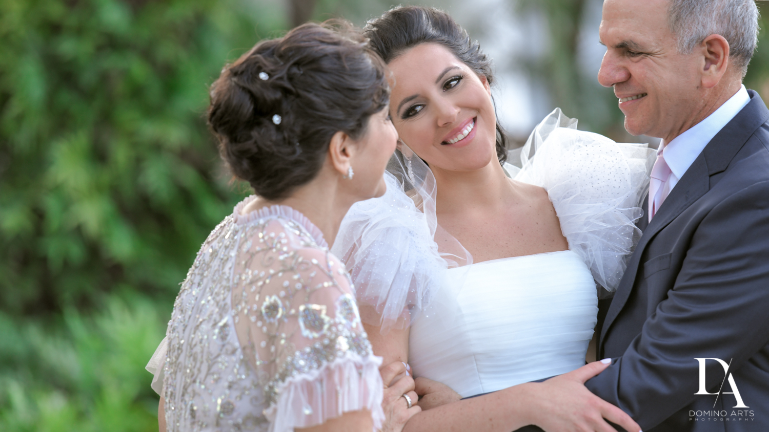 parents of the bride at Fairy-Tale Wedding at BNai Torah Boca Raton by Domino Arts Photography