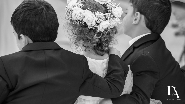 kids at Fairy-Tale Wedding at BNai Torah Boca Raton by Domino Arts Photography