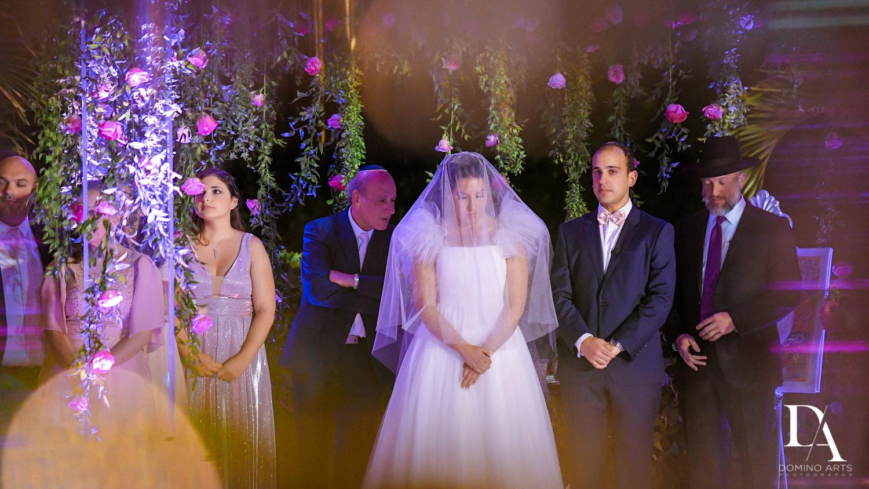 ceremony at Fairy-Tale Wedding at BNai Torah Boca Raton by Domino Arts Photography