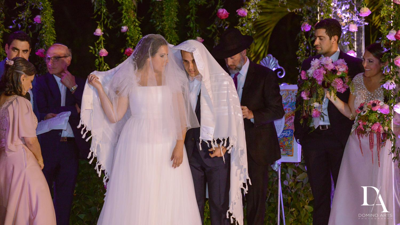 jewish traditions at Fairy-Tale Wedding at BNai Torah Boca Raton by Domino Arts Photography