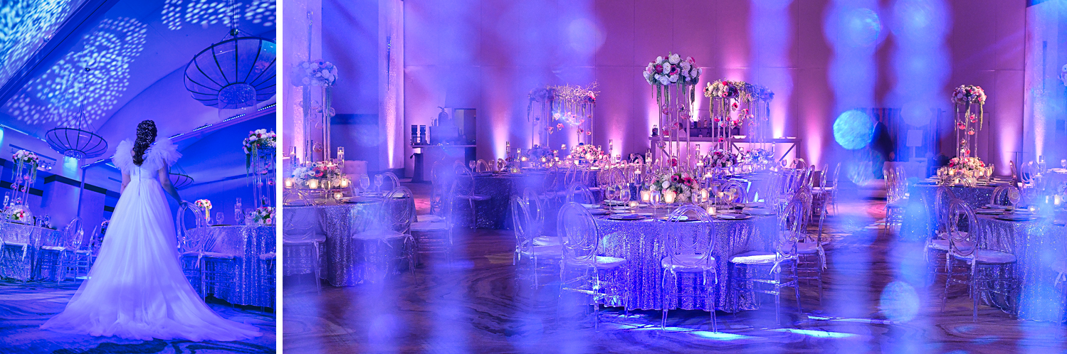 Designs by Sean decor at Fairy-Tale Wedding at BNai Torah Boca Raton by Domino Arts Photography
