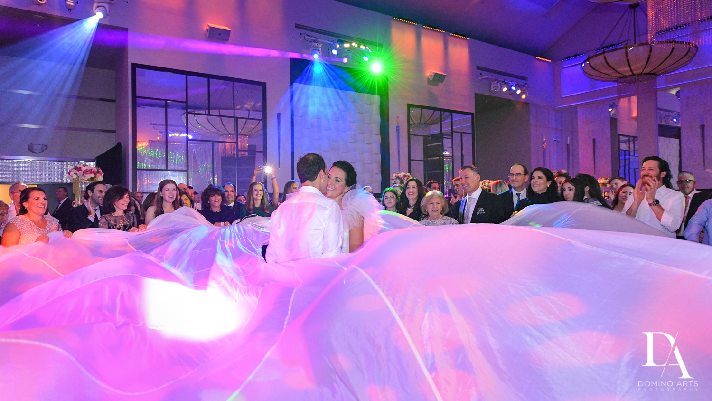 fun party at Fairy-Tale Wedding at BNai Torah Boca Raton by Domino Arts Photography