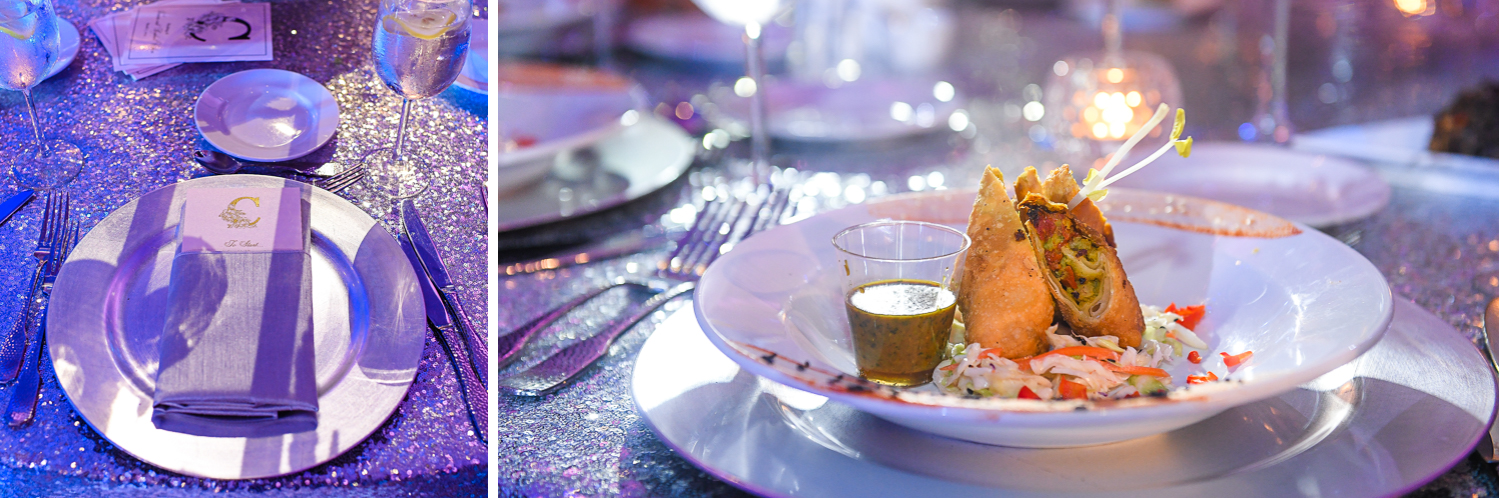 catering at Fairy-Tale Wedding at BNai Torah Boca Raton by Domino Arts Photography