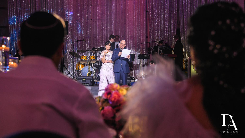 toast at Fairy-Tale Wedding at BNai Torah Boca Raton by Domino Arts Photography