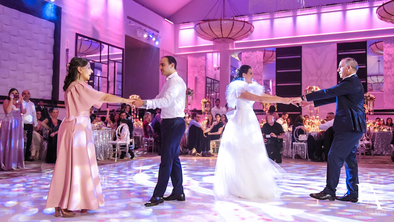 parent dance photos at Fairy-Tale Wedding at BNai Torah Boca Raton by Domino Arts Photography