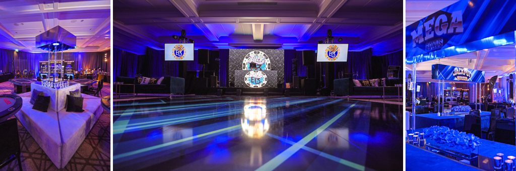 Casino Night Lucky 13 theme Bar Mitzvah at Royal Palm Beach Yacht Club by Domino Arts Photography