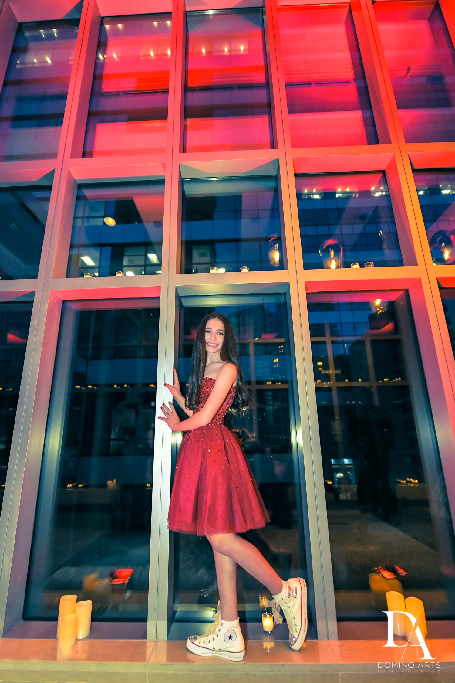 portraits at Luxury Celebrity Bat Mitzvah at Four Seasons Hotel Miami by Domino Arts Photography