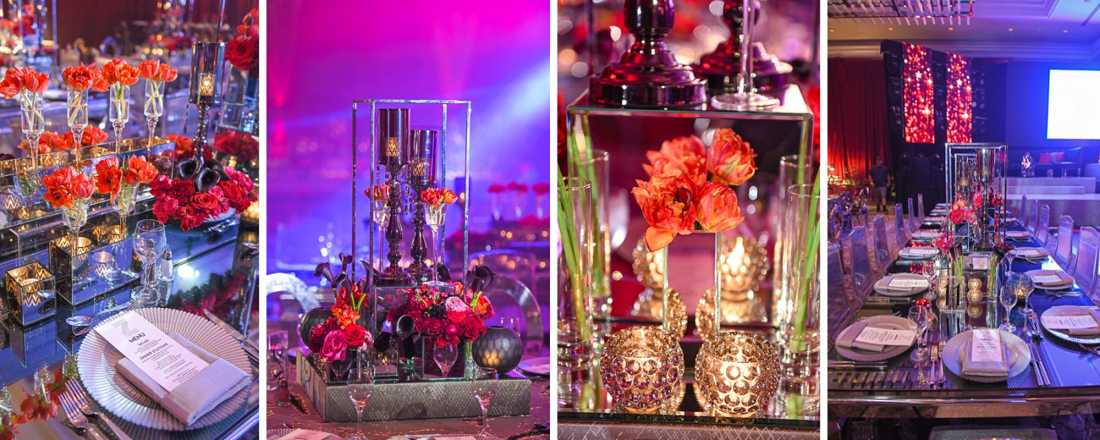 decor at Luxury Celebrity Bat Mitzvah at Four Seasons Hotel Miami by Domino Arts Photography