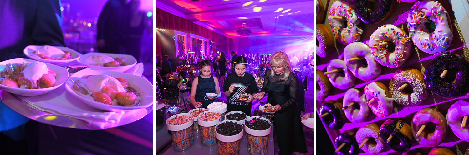 best catering at Luxury Celebrity Bat Mitzvah at Four Seasons Hotel Miami by Domino Arts Photography