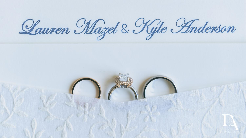 Rings at Luxury South Florida Wedding at Vizcaya Gardens by Domino Arts Photography