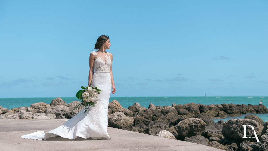 Tropical Garden Wedding at Fisher Island Miami by Domino Arts Photography