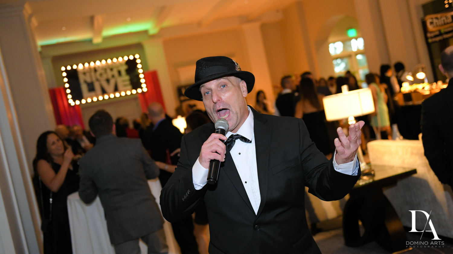 impersonators at New York Theme Bat Mitzvah at Woodfield Country Club, Boca Raton by Domino Arts Photography