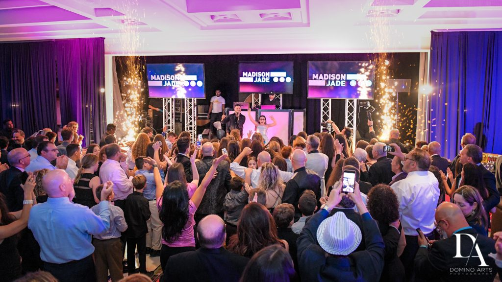 party at New York Theme Bat Mitzvah at Woodfield Country Club, Boca Raton by Domino Arts Photography