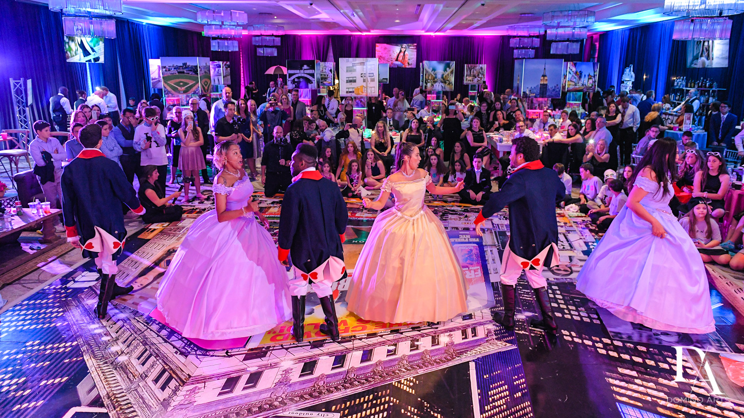 Hamilton at New York Theme Bat Mitzvah at Woodfield Country Club, Boca Raton by Domino Arts Photography