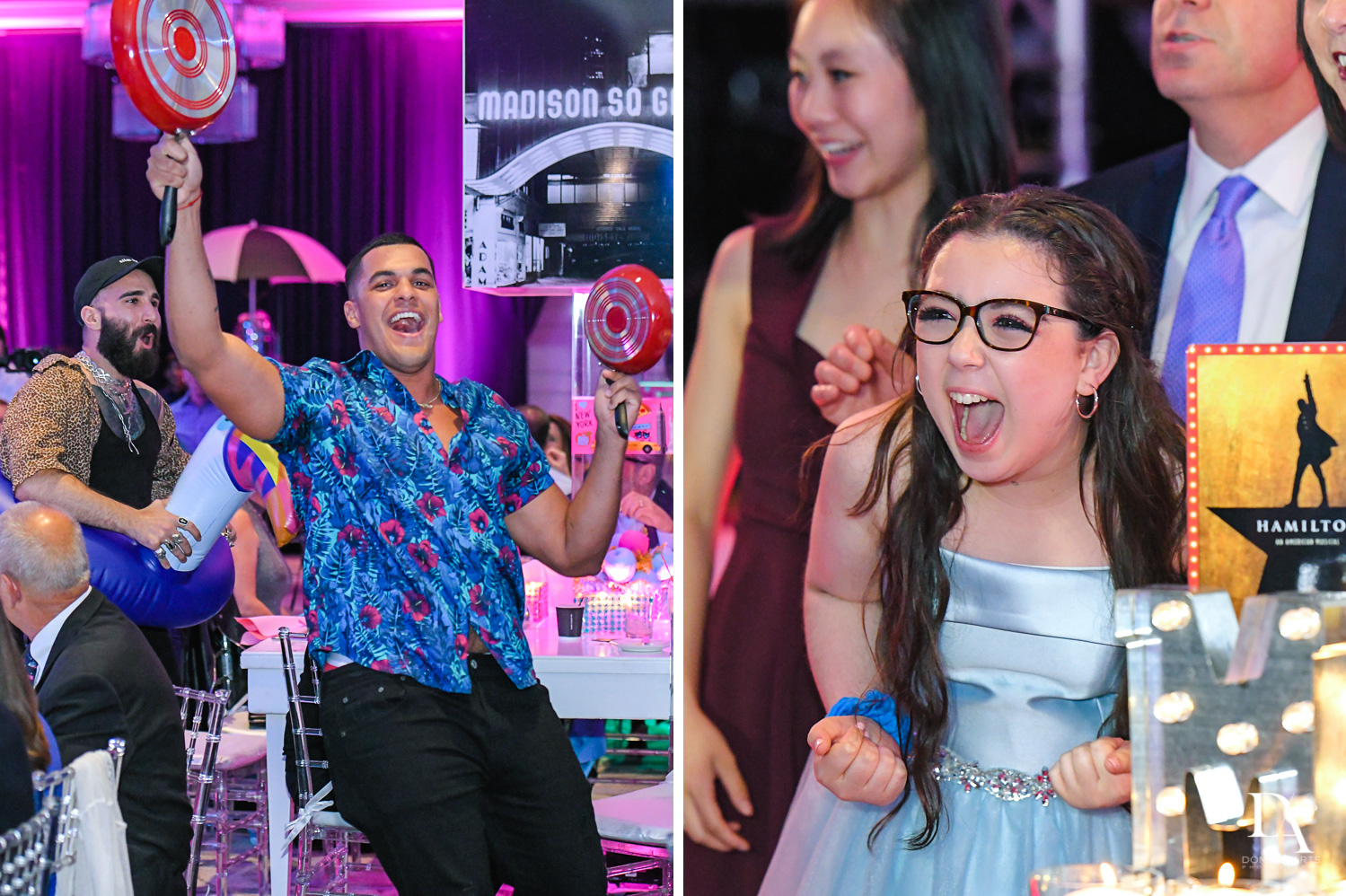 Big Brother appearance at New York Theme Bat Mitzvah at Woodfield Country Club, Boca Raton by Domino Arts Photography