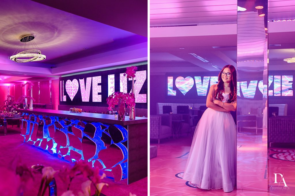 best decor at LUXURY BAT MITZVAH FEATURING ZEDD AT ST ANDREWS COUNTRY CLUB BY DOMINO ARTS PHOTOGRAPHY