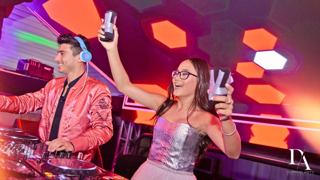 DJ Frankie P at Luxury Bat Mitzvah featuring ZEDD at St.Andrews Country Club