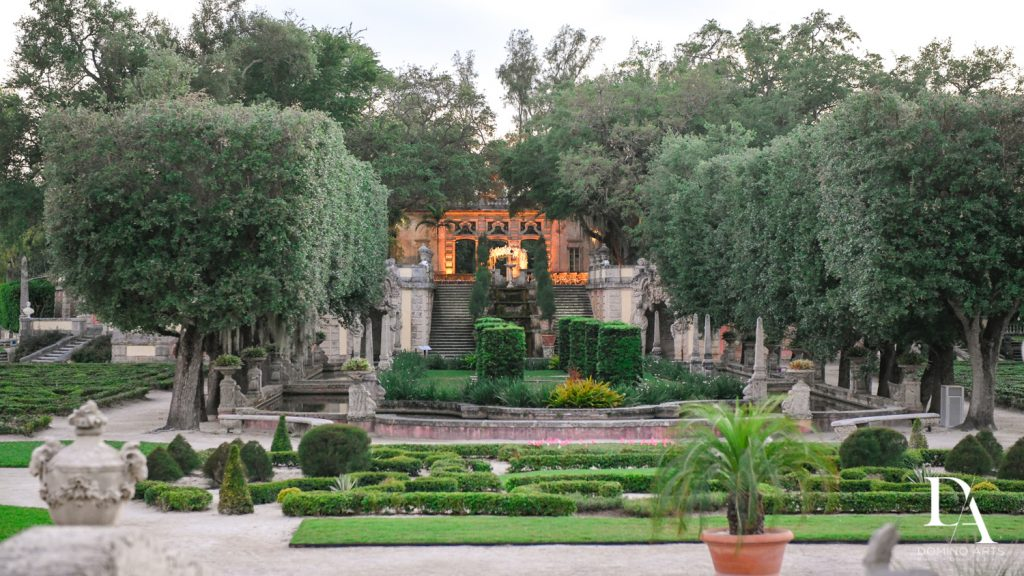 Best venue Haute Couture Dream Wedding at Vizcaya Museum & Gardens by Domino Arts Photography