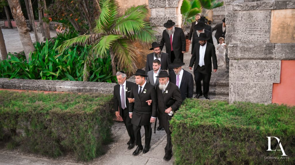 groomsmen at Haute Couture Dream Wedding at Vizcaya Museum & Gardens by Domino Arts Photography
