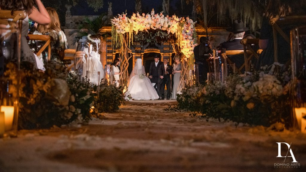 orthodox wedding at Haute Couture Dream Wedding at Vizcaya Museum & Gardens by Domino Arts Photography