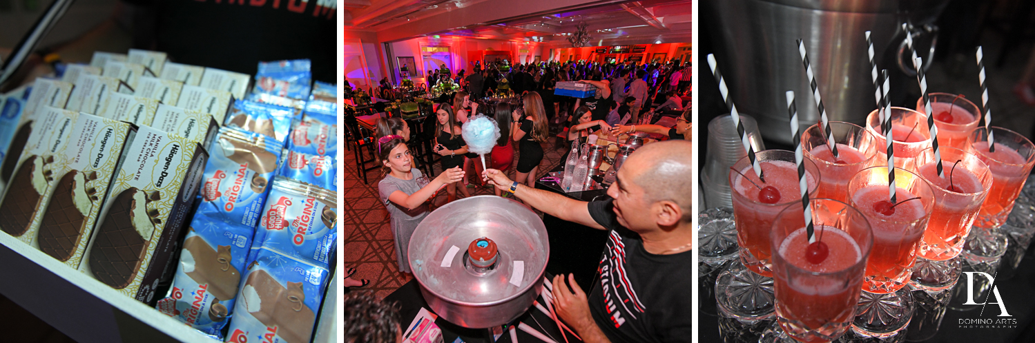 party activities for Football Theme Bar Mitzvah at Temple Beth El and Royal Palm Yacht Club by Domino Arts Photography