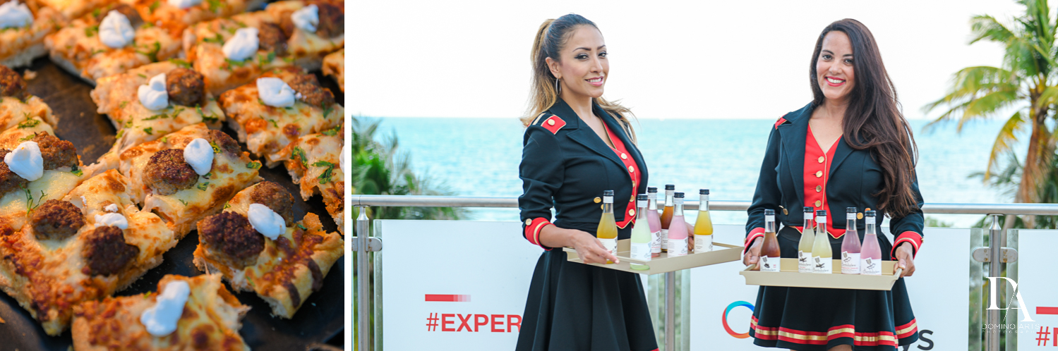 catering at Fintech Americas Banking Conference Miami by Domino Arts Photography