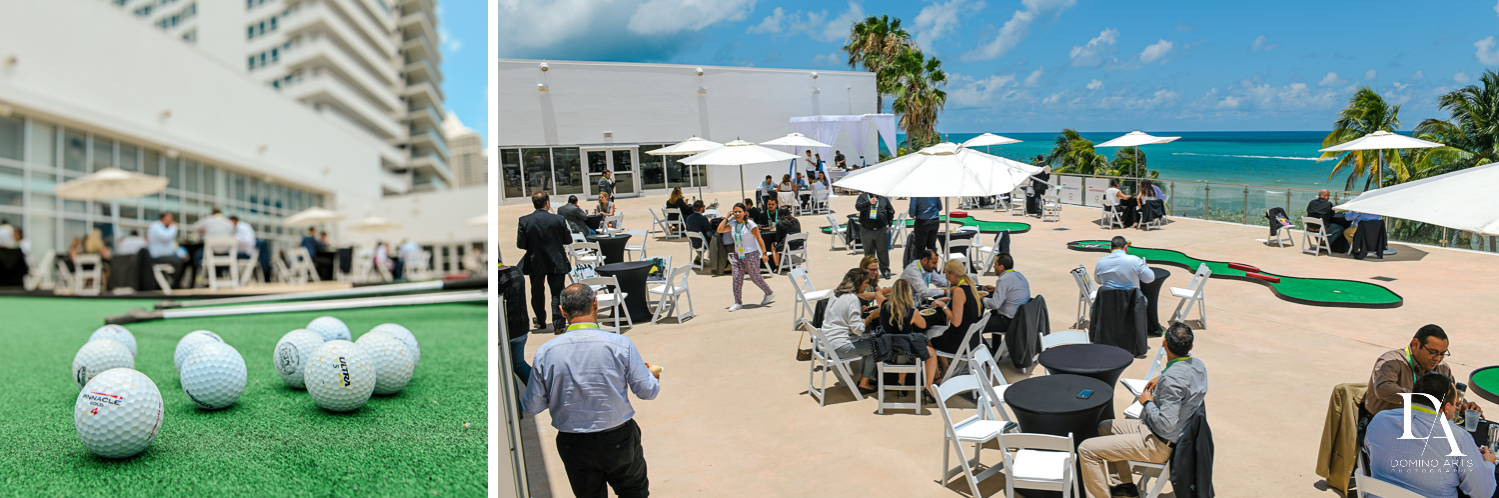 outdoors at Fintech Americas Banking Conference Miami by Domino Arts Photography
