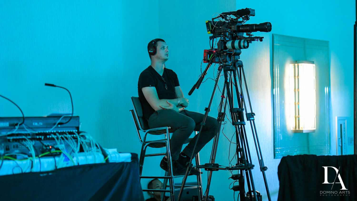 video coverage at Fintech Americas Banking Conference Miami by Domino Arts Photography