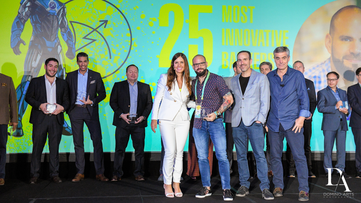 awards ceremony at Fintech Americas Banking Conference Miami by Domino Arts Photography