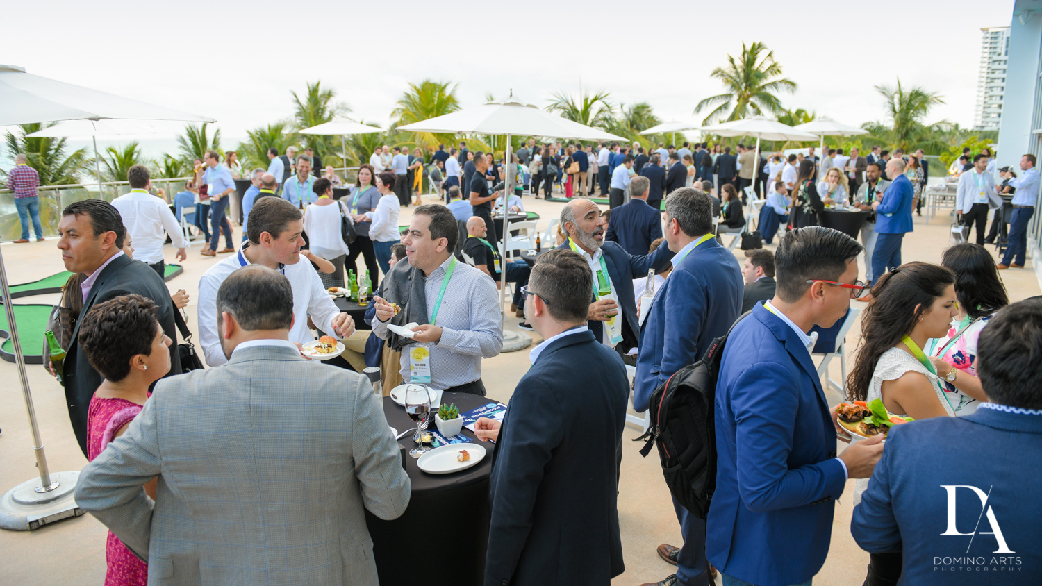 networking at Fintech Americas Banking Conference Miami by Domino Arts Photography