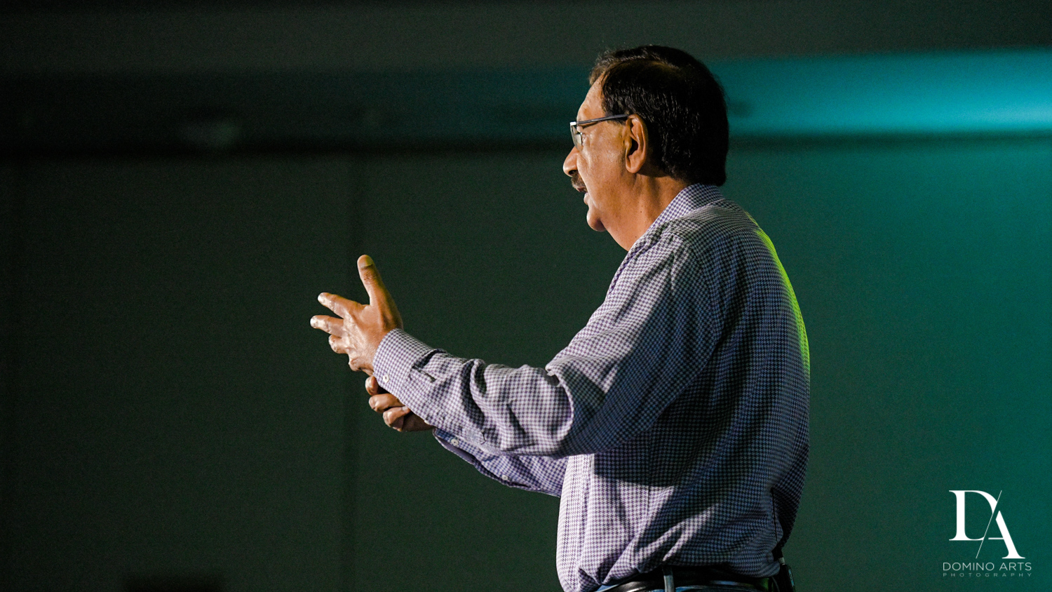 speaker at Fintech Americas Banking Conference Miami by Domino Arts Photography